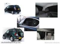 Privacy Shades přesné protisluneční clony - 6 dílná sada Daihatsu Terios -- od roku výroby 97-